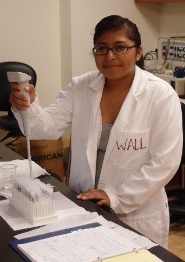 Dalia Lorenzo, a 2012 YRP student